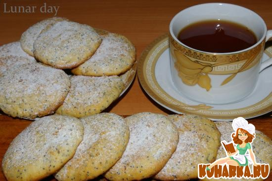 Рецепт Лимонное печенье с маком