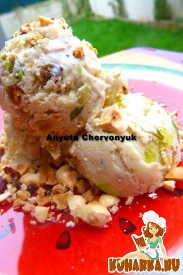Рецепт Фисташковое мороженое.