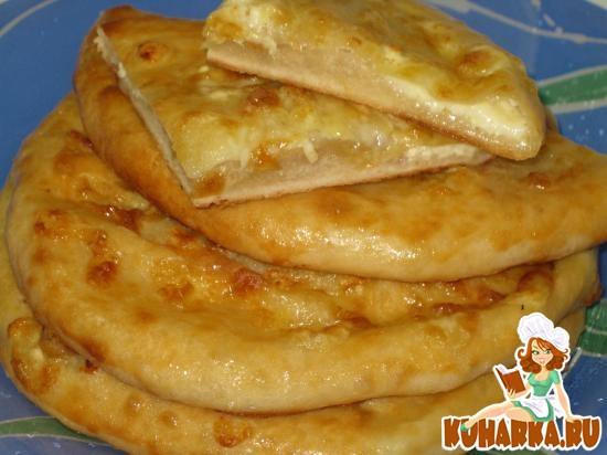 Рецепт Менгрельские хачапури с сыром