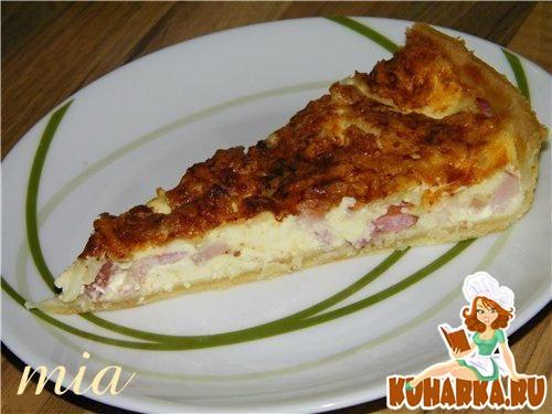 Рецепт Лотарингский сырный пирог