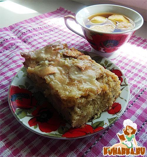 Рецепт Яблочный пирог с молочной помадкой