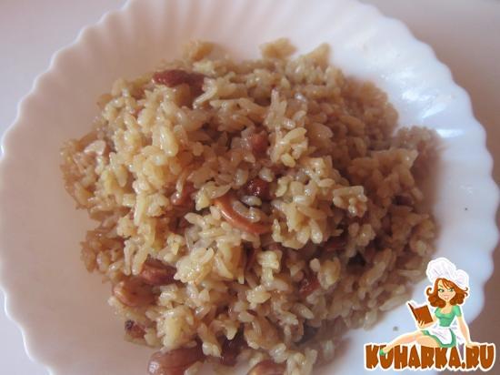 Рецепт Индийский королевский плов без мяса