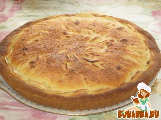 """Рецепт Яблочный пирог """" Неженка """""""