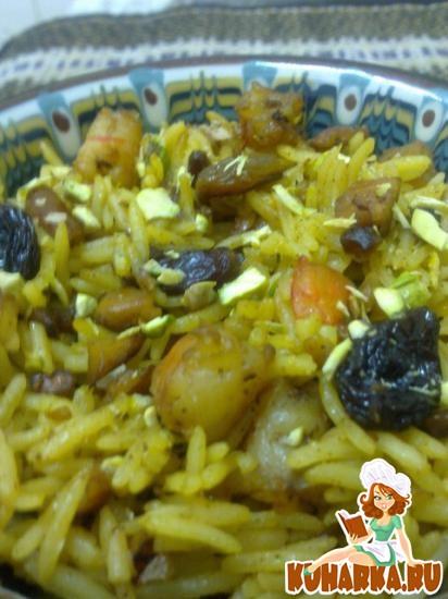 Рецепт Бириани (восточный рис)