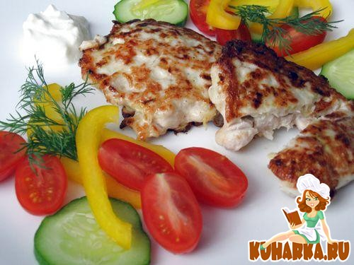 Рецепт Куриные котлетки с кабачками