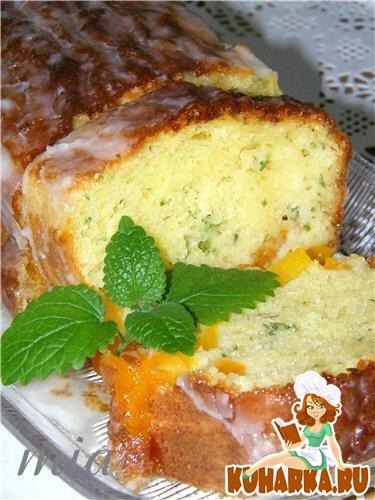 Рецепт Абрикосово-кефирный пирог (Aprikosen-Buttermilch-Kuchen)