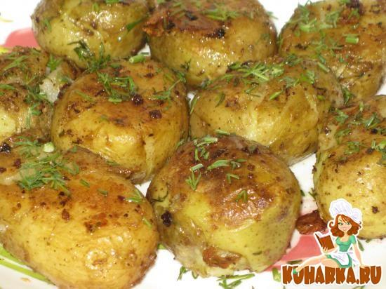 """Рецепт """"Тающий"""" картофель"""