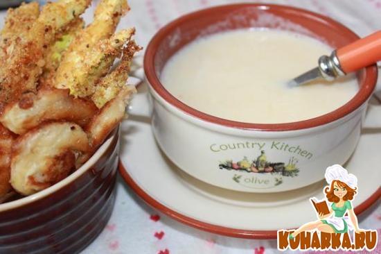 Рецепт Сырно-овощной суп в мультиварке