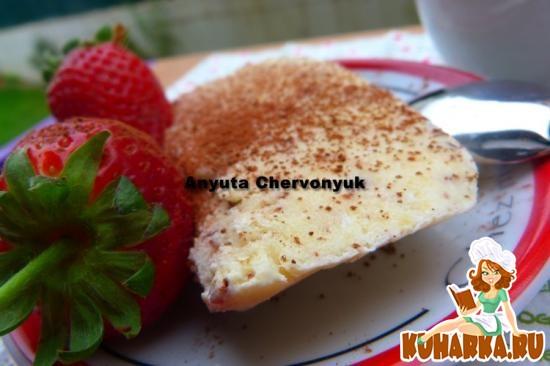 Рецепт Ананасовое мороженое с шоколадом.