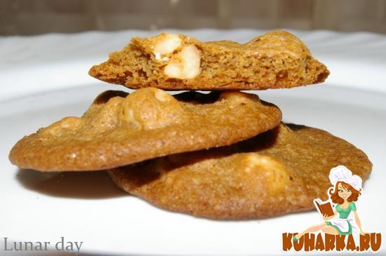 Рецепт Печенье с фундуком, эспрессо и капучино