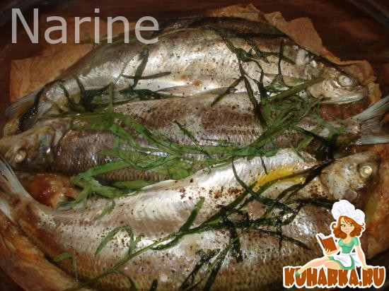 Рецепт Рыба сиг на лаваше
