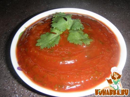 Рецепт Соус томатный для шашлыка