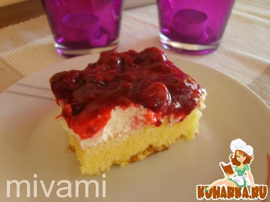 Рецепт Rote-Gruetze Kuchen