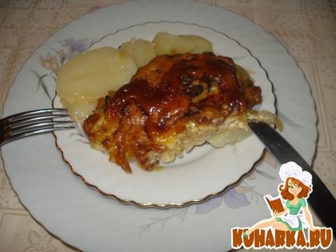 """Рецепт Мясо """"По-Капитански""""."""