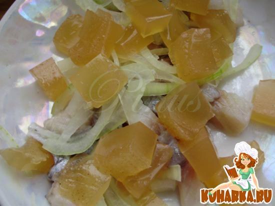 Рецепт Сельдь с яблочным желе