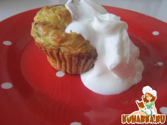 Рецепт Кабачковые кексы