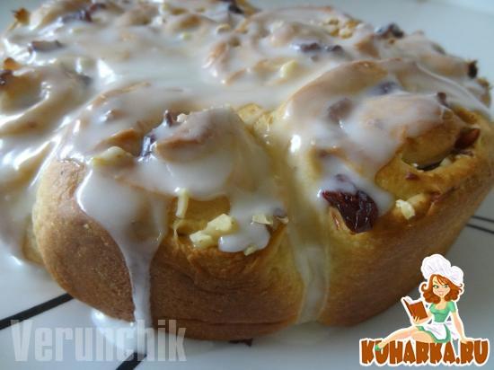 Рецепт Sticky Bun Coffee Cake (Булочки к кофе)