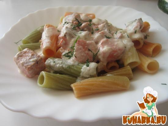 Рецепт Форель в сливочном соусе