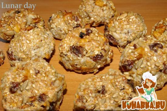 Рецепт Полезное овсяное печенье