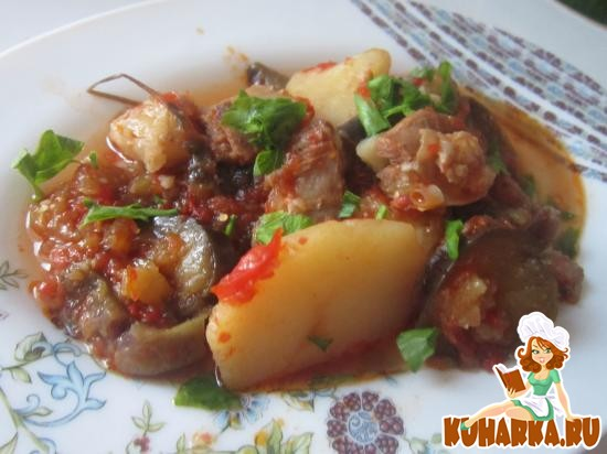 Рецепт Бухлама с баклажанами