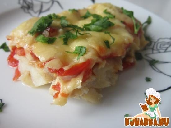 Рецепт Рыба в сырной шубке