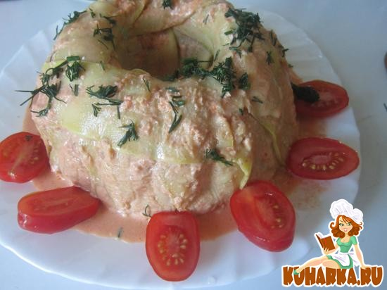 Рецепт Кабачковая запеканка с мясом