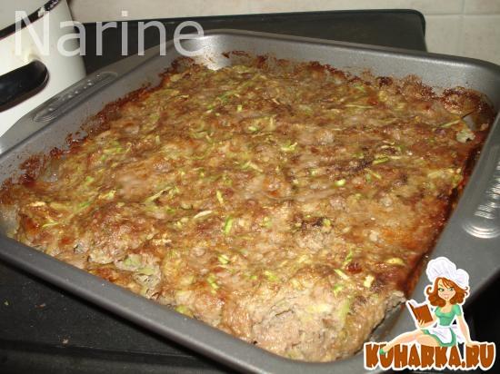 Рецепт Запеканка из фарша с кабачком