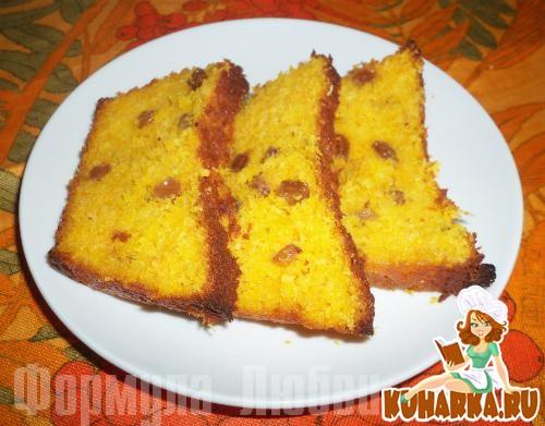 Рецепт Морковно-кокосовый пирог.
