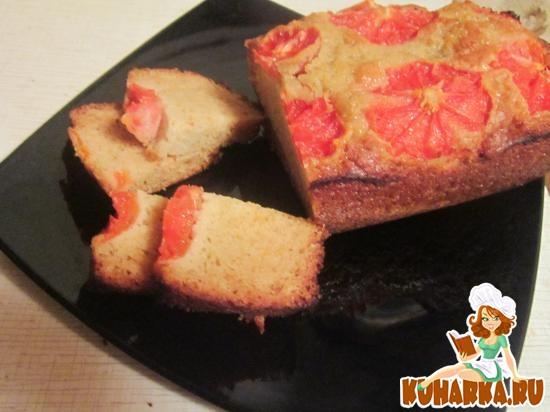Рецепт Апельсиновый кекс на сметане