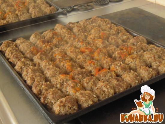 Ёжики из фарша с рисом рецепт с как в садике рецепт