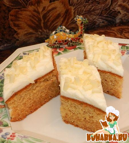 Рецепт Медовые пирожные с ванильно-медовым кремом