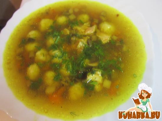 Рецепт Суп с сырными шариками