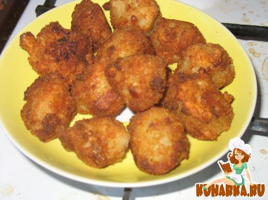 Рецепт Манные клецки-фри