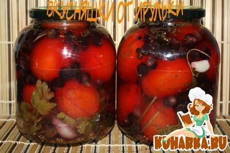 Рецепт Помидоры маринованные с виноградом
