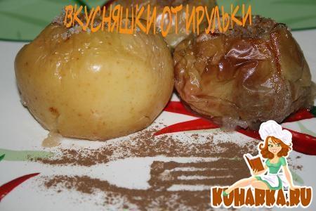 Рецепт Яблоки запеченные с орехами