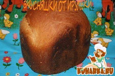 Рецепт Хлеб белый яичный
