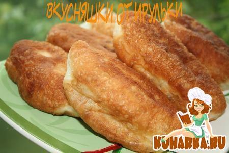 Рецепт Пирожки жареные с картофельной начинкой