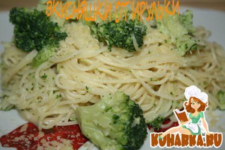 Рецепт Паста в сливочном соусе с брокколи