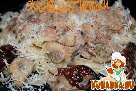 Рецепт Паста с грибным соусом от Танюши-Emiliana