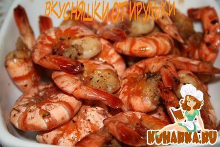 Креветки жареные с соусом терияки рецепт