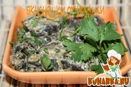 Рецепт Сациви из баклажан, ложное