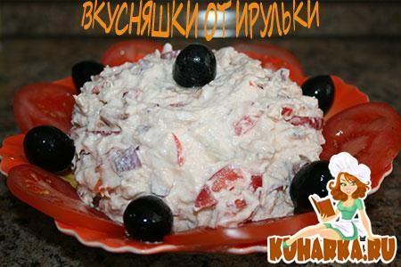 """Рецепт Салат """"Рваная курица"""""""