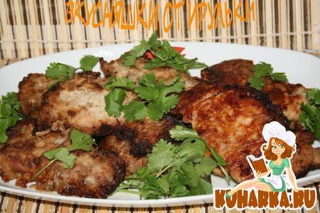 Рецепт Свинина маринованная в яблочном соусе