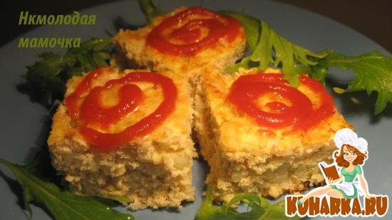 Рецепт Рыбное суфле из детского сада.