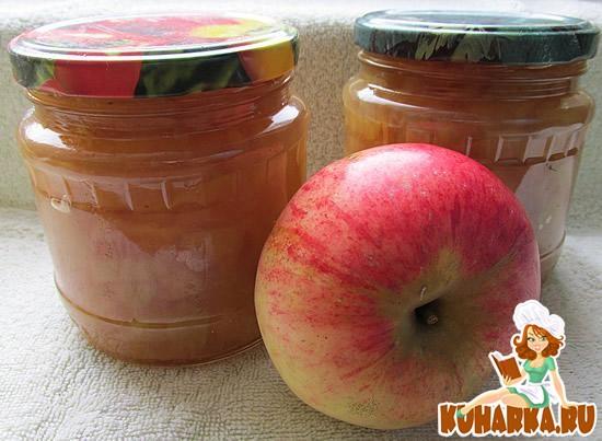 Рецепт Заготовка из яблок