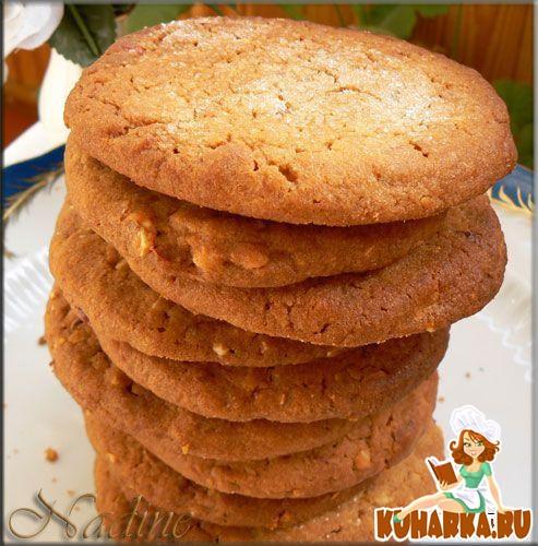 Рецепт Печенье на арахисовом масле