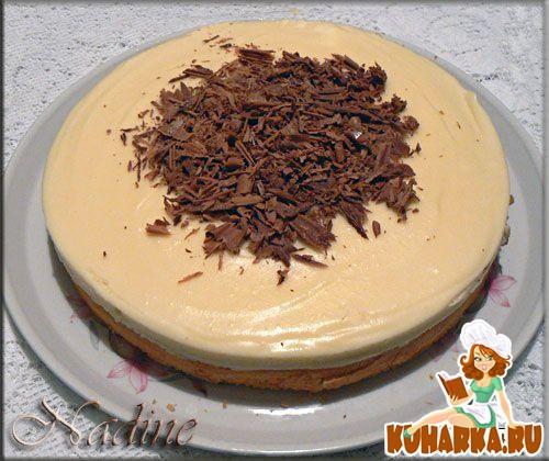 Рецепт Трюфельный торт из белого шоколада