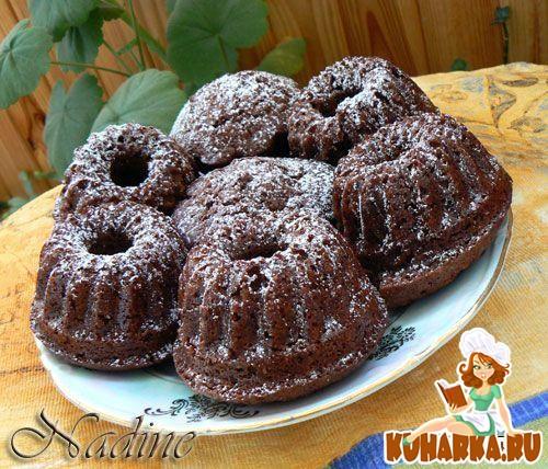 Рецепт Шоколадно-ореховые маффины