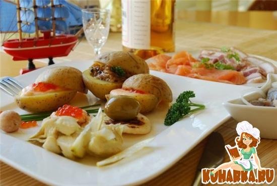 Рецепт Картофельные сундучки