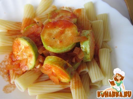 Рецепт Кабачки в томатном соусе по-египетски